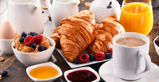 Petit déjeuner et pause sucrée