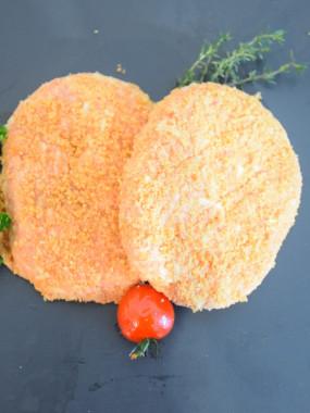 Pané de veau au fromage